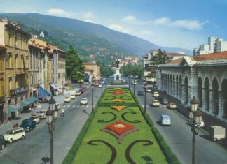 Piazza Arnaldo Cartolina viaggiata 15/12/1968