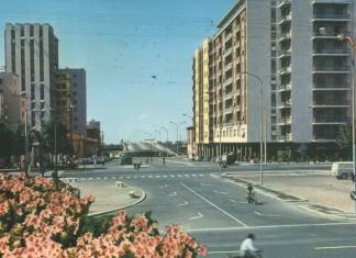 Via A.Saffi Cartolina viaggiata 15/10/1963