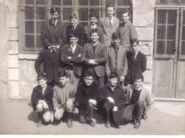 Classe 3 A Media Romanino, anno 1964.
