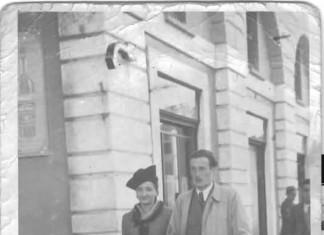 Nonni a passeggio - Brescia anni 50
