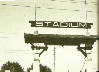 L'ingresso dello Stadium di Viale Piave