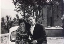 """Gita domenicale a Vobarno - 1963 """"Mia mamma e mio papà con la loro Fiat 600"""""""