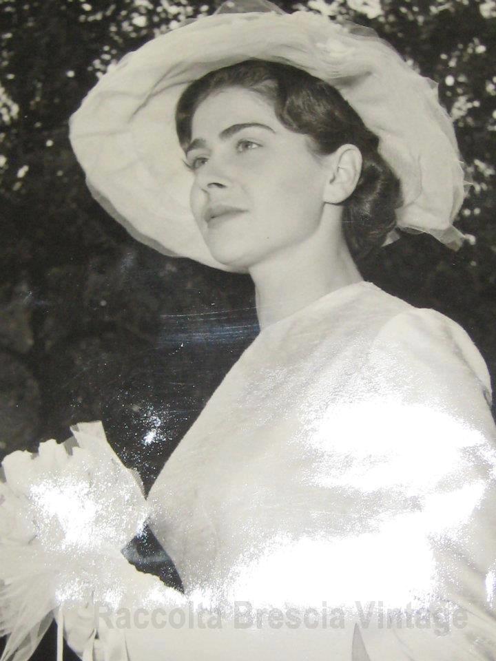 Mia mamma nel giorno del suo matrimonio - Travagliato 1963