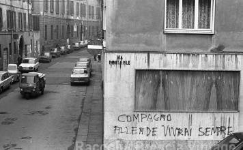 Via Porta Pile - Brescia 1975
