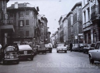 Via Elia Capriolo nel 1976 - Brescia