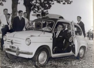 Matrimonio a Chiesanuova - Partenza per il viaggio di nozze 1963