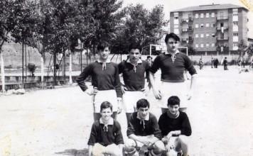 Campo dell'oratorio Salesiani - Brescia 1965
