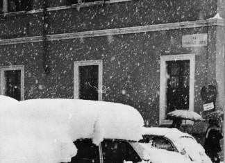 Le strade bresciane impraticabili - 1985