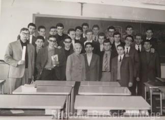 """""""4^ A"""" ITIS Castelli - Anno scolastico 1964/65"""