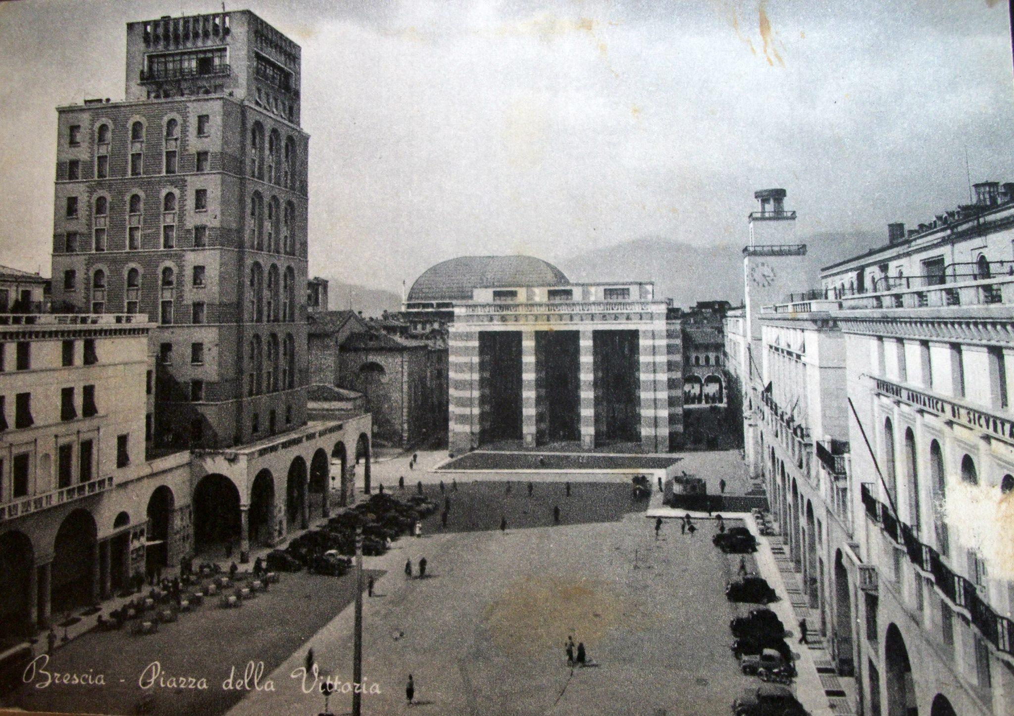 piazza della vittoria brescia 1959