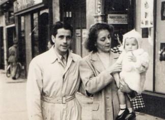 """""""Mio papà Rainardo, mia mamma Giulietta ed io"""", Corso Zanardelli 1946"""