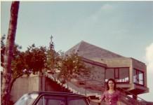 In Maddalena con la mitica Prinz nel 1970