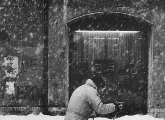 Sci di fondo per le vie di Brescia - Gennaio 1985