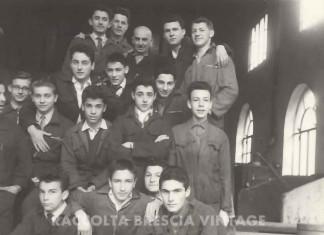 1958_seconda_ITIS_via_santa_chiara_lezione_di_fonderia