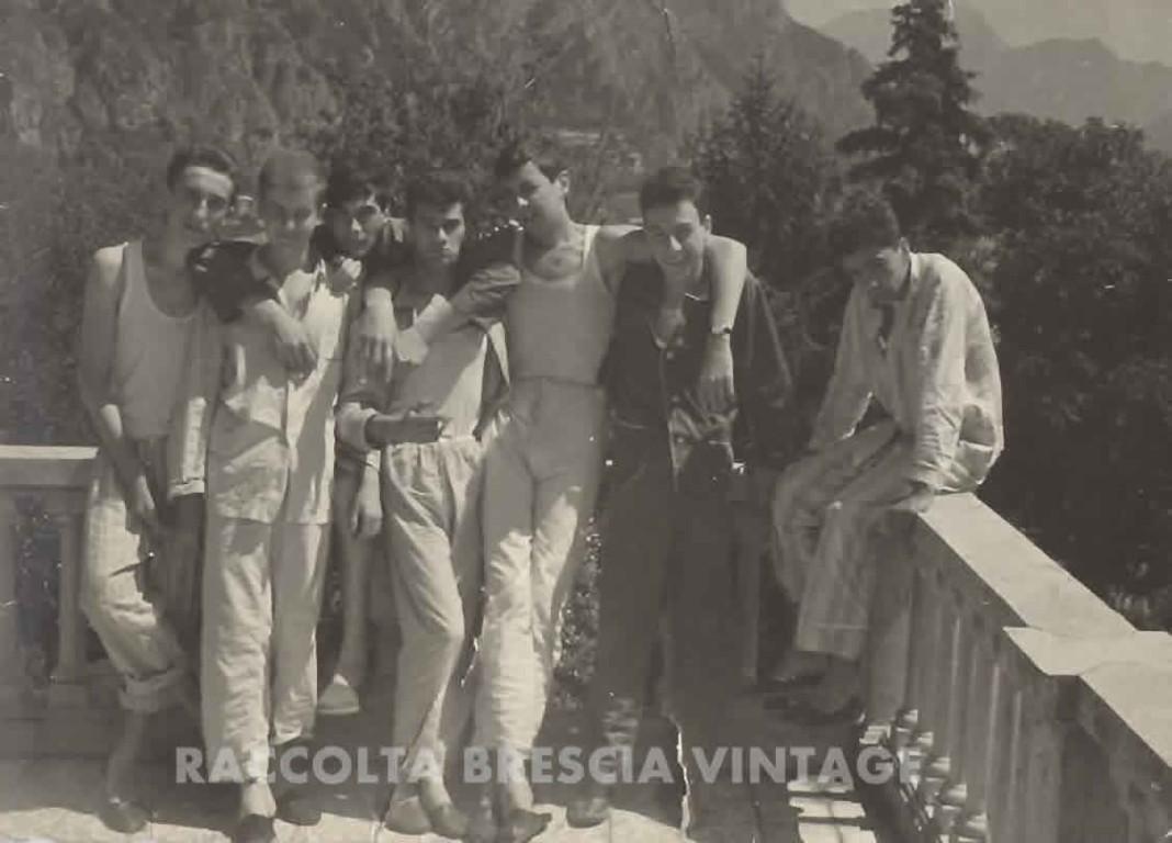 alcuni compagni di scuola_3 ITIS_ospiti_a_Limone_1960