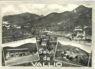 Saluti da Vallio - anni 50