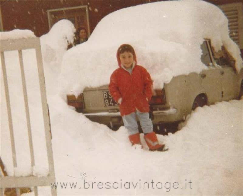 Nevicata 1985 - Villaggio Sereno