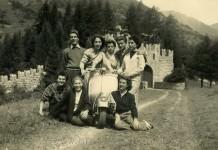 Estate 1952 - Il castello a Pontedilegno