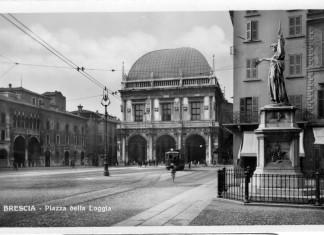 Piazza della Loggia - Brescia - 1950