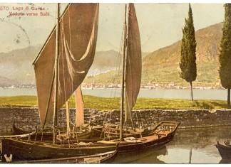 Porto di Portese - Lago di Garda - 1910