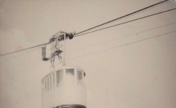 Funivia in partenza - 1967