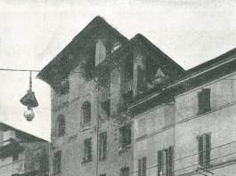 """""""Case demolite per creare via Camillo Pulusella"""" - via San Faustino del '900"""