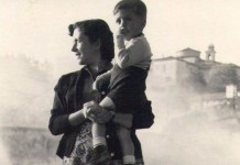 """""""In braccio a mia mamma in Castello"""" - 1953"""