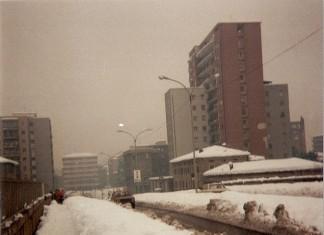 Grande nevicata 1985. Cavalcavia Kennedy