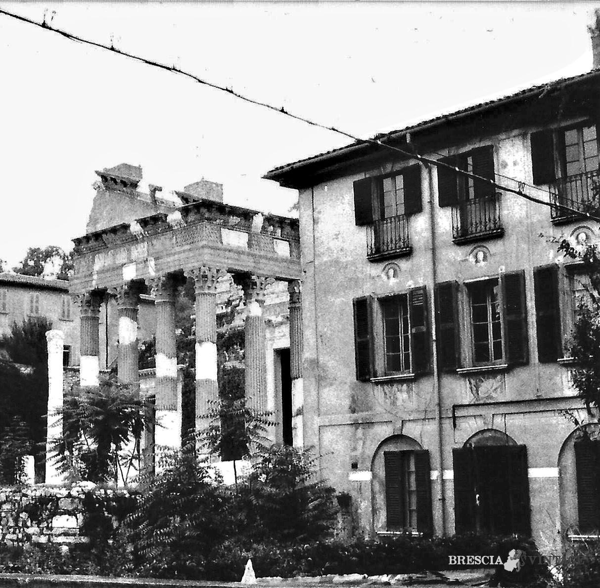 La scuola media del fontanone e il capitolium 1954 for Scuola moda brescia