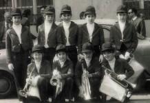 """Io nella banda cittadina"" - 1974"