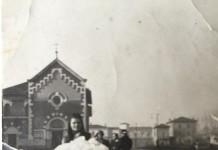 """""""Battesimo di mio papà"""" - Via Volta - 1938"""