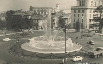 """""""Piazza Repubblica vista dalle finestre di casa mia"""" - 1956"""
