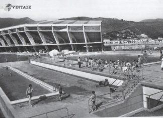 Piscina di Mompiano anni 50
