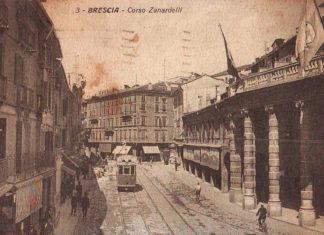Corso Zanardelli di inizio Novecento