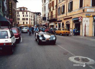 Mille miglia in via San Faustino a Brescia