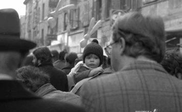 """""""Folla in fiera di San Faustino"""" - 1980"""