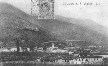 Un'antica cartolina di S.Vigilio di Concesio (circa 1910)