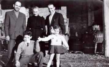Famiglia Paderni anni 50