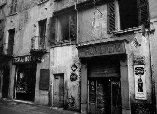Trattoria Da Ferruccio e Casa del Bottone in via Battaglie