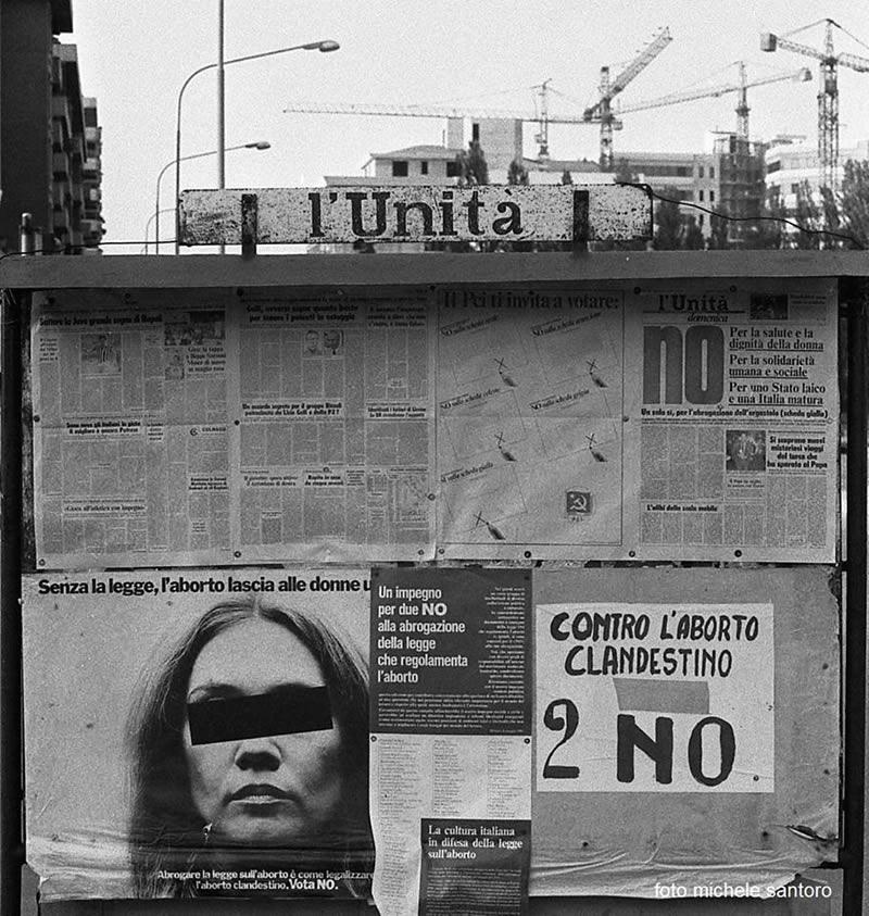 Propaganda sui referendum a Brescia 2 nel 1981