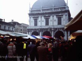 Fiera di san Faustino in piazza Loggia