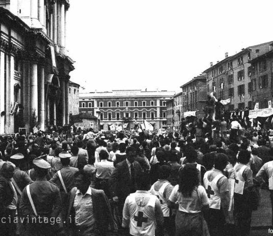 """""""Giovanni Paolo II"""" - Piazza Duomo - 1982"""