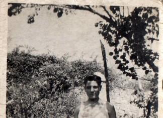 """""""Angelo Carè, mio zio a casa sua sui Ronchi"""", 1932 (Fotografia inviata da Maria Francesca Aramini)"""