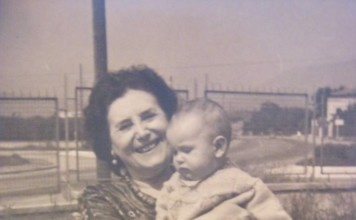 """""""Lilia e Lilia"""", nel ' 59 o '60, via Triumplina (vicino uscita tangenziale, fermata metrò Prealpino)."""