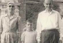 """Con i miei genitori in castello"""". Fine anni '50"""