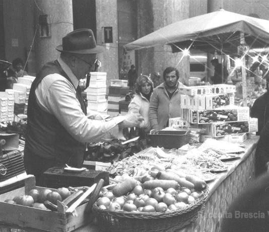 Le caldarroste.....Fiera S. Faustino 1980.