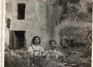 """""""Gita in Pusterla, mia madre con mia zia"""", anni 30. (Inviata da Maria Francesca Aramini)"""