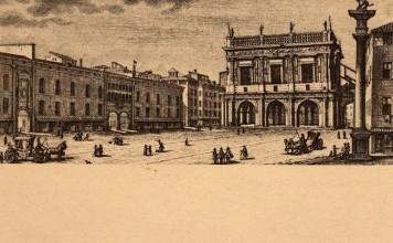 La Loggia in una stampa del 1750