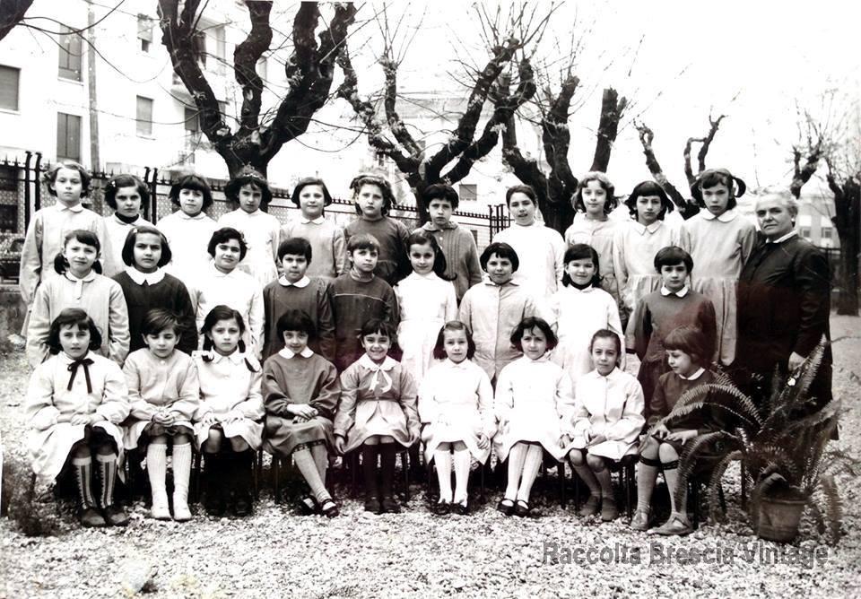 Classe terza elementare scuola Alessandro Volta, 1967.