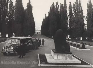 Funerale del nonno al Cimitero Vantiniano 1954